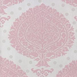 barok vlies behang rose lambrisering 54380