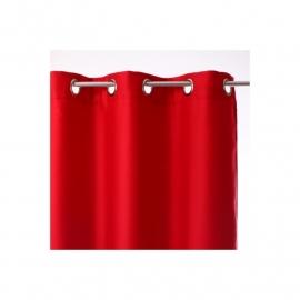 Verduisteringsgordijn - rode anjers geïsoleerd pan