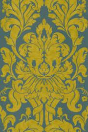 groen goud barok behang vlies 546453