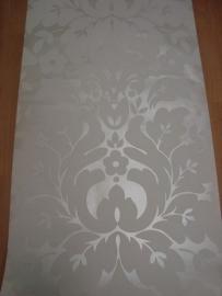 barok behang vinyl parelmoer wit 96