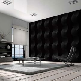 retro behang zwart grijs atlas 537-4