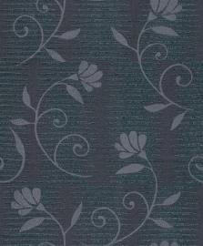 glitter bloemen vlies behang glamour rasch 404203