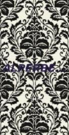 zwart wit vlies 3d barok trendy behang 126