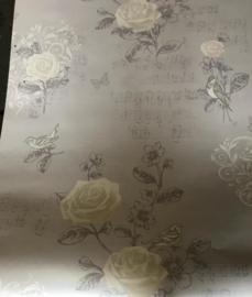 vogel bloemen behang xxxx96