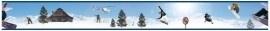 Dutch zelklevende behangrand 118 Snowboarden