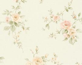 Engelse bloemen behang 37230-7