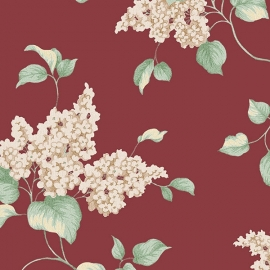 Norwall English Florals bloemen behang G34321
