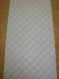 grijs ruitjes blokjes vinyl barok behang  08