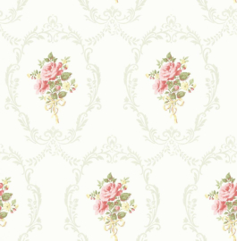 Engelse bloemen behang fd23216