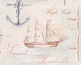AS Creation Simply Decor Zeilboot behang 33537-2