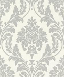 Rasch Glam Behang 541625 Barok/Ornament/Klassiek/Landelijk/Grijs