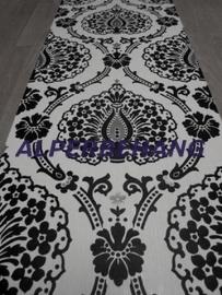 barok vlies behang zwart wit 388