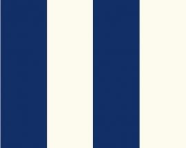blauw strepen Jette behang  2356-33