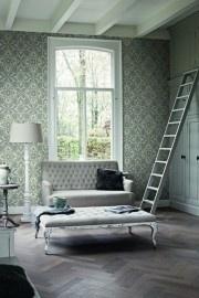 BN Wallcoverings Glamorous 46731 barok grijs glans vlies