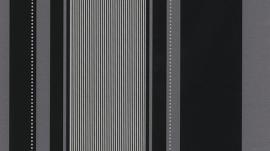 zwart zilver glitter strepen behang Erismann 9728-15