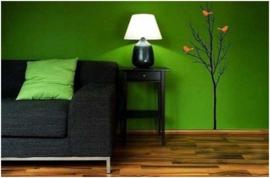 groen vlies behang xxx13