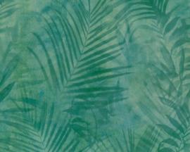 AS Création vliesbehang bomen planten groen 37411-2