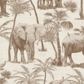 Arthouse Journeys behang Elephant Grove 610703