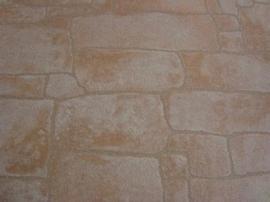 natuur steen licht bruin behang 18
