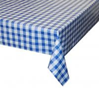 blauw wit ruiten tafelzeil geblokt 5700480