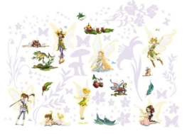 Muurstickers Room Makeover Disney Fairies