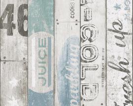 Hout behang papier 95950-3