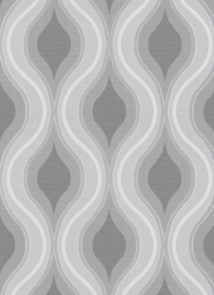 grijs retro behang 10098-10
