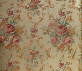 Klassiek bloemen behang 311073