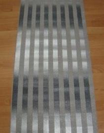 zwart zilver met glitter streepjes behang 9