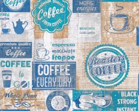 AS Creation Simply Decor Coffee behang 33480-4