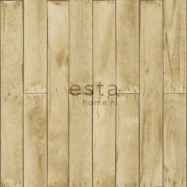 Esta Home Denim & Co. wood beige and brown 137744