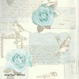BELLA TEAL BEHANG - Arthouse Options 630404