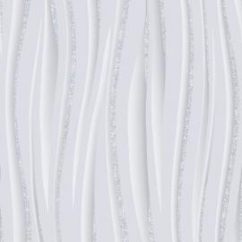 Glitter Suede Effect behang grijs - M0894 / E81419