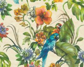 AS Creation Simply Decor Papegaaien behang 30015-1