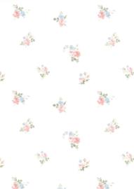 Engelse bloemen dollhouse bloemen behang 68813
