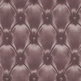 chesterfield gekapitonneerd vlies 3d behang 479515