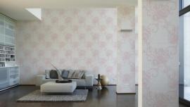 947727 La romantica roze creme behang