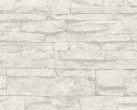 AS Creation Wood´n Stone 7071-61 Steenstructuur behang
