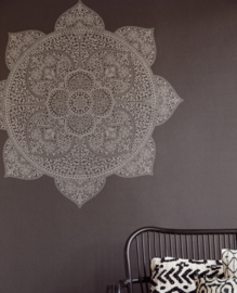 Eijffinger Lounge Wallpower 388901 Mandala Black