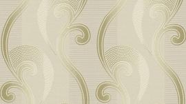 barok behang Erismann Serail goud beige bruin 6804-02