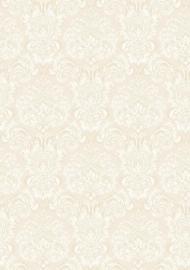 Barok behang beıge ecru 3930
