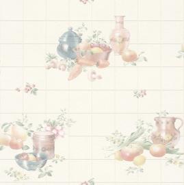 keukenbehang vinyl fruitmotief behang 884913