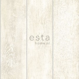 Esta Home Denim & Co. wooden planks white 137746
