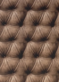 behang chesterfield kapyton gekapitoneerd klassiek bruin 3d 95877-2