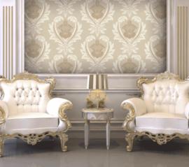 barok behang creme goud 547-3 obsession atlas