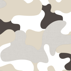 Camouflage leger behang 303219