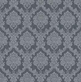 barok grijs behang 147933