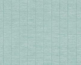 blauw vlies behang 954782