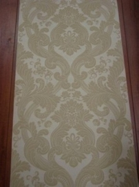 barok behang vinyl creme 121