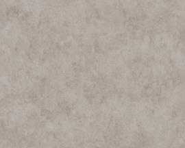 Beton behang grijs metalic zilver 36924-2